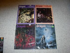 Vintage Dragon Magazines collection Sarnia Sarnia Area image 1