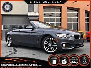 BMW 4 Series 428i XDRIVE CABRIOLET, GPS,CAMÉRA 360 + ANGLE MORT