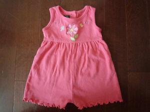 Girls Onesie, Tops, Pants (size 6-9 months)