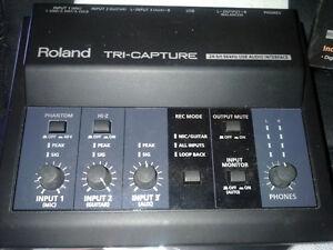 """ Roland Tri-Capture USB Audio Interface """