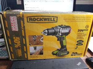 Rockwell cordless drill