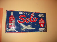 Extremely RARE 1940 SOLO aviation 12 onces 4 cents advertising