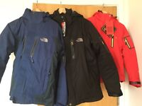 The North Face 3 in 1 Winter Jackets