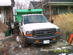 2001 FORD F-350SD WORK TRUCK