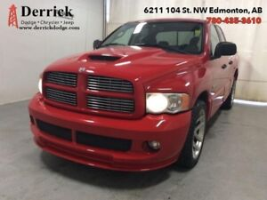 2005 Dodge Ram 1500 Used Q/C SRT10 Lthr Seats Sunroof Nav