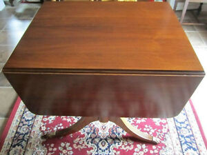 Krug Walnut dining table with two leaves & inserted leaf Kitchener / Waterloo Kitchener Area image 1