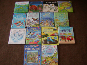 USBORNE BOOKS FOR CHILDREN (ENGLISH AND FRENCH) 36