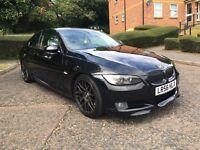 BMW 335d coupe 405 BHP 800 NM torque M3 extras big spec fsh MODIFIED/TURBO