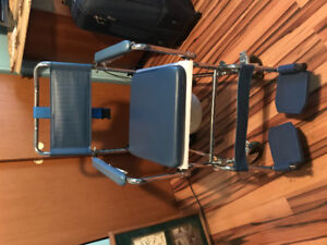 COMODE CHAIR WITH WHEELS BRAND NEW