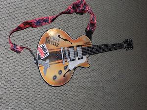 """Paper Jamz Guitar """"I think I'm turning Japanese"""""""