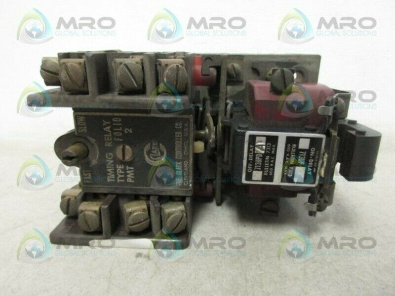 JOSLYN CLARK 713UP TIMING RELAY *USED*