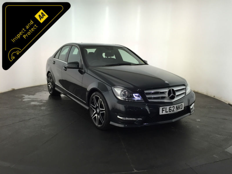 2012 62 MERCEDES-BENZ C350 AMG SPORT+ CDI BLUE EFFICIENCY 261 BHP FINANCE PX