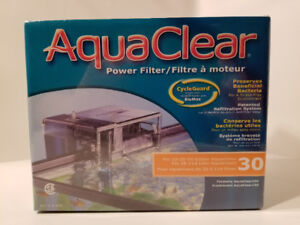 Brand New/Sealed AquaClear 30 Power Filter