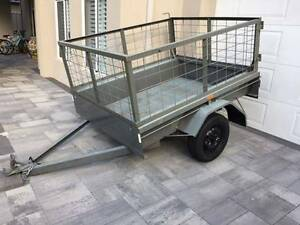 Trailer 7x4 Cage Box Licensed Dalkeith Nedlands Area Preview