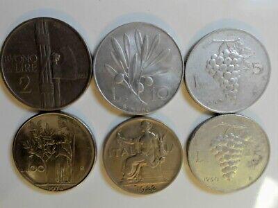 Switzerland Coin Earrings 1959-1970