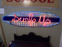 "Light Up ""Surfs Up"" Sign 47 by 13"