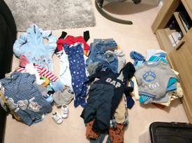6-9 month boys clothes bundle 50 items