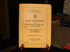 Radio Interference from Electrical Apparatus and Systems Causes