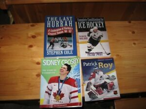 HOCKEY RELATED BOOKS - LOT # 1 - REDUCED!!!!