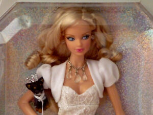 Miss Diamond Barbie..Pink Label Collection Series.NEW.NOT opened Cambridge Kitchener Area image 2