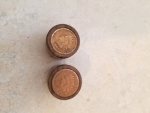Indian Head Penny Guitar Knobs