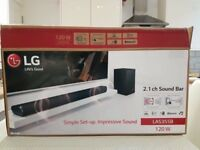 LG LAS355B 2.1 channel sound bar
