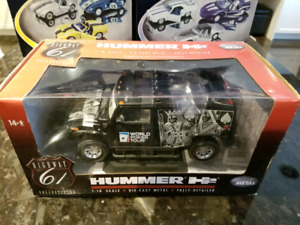 1:18 Diecast Highway Hwy 61 Hummer H2 Workd Poker Tour