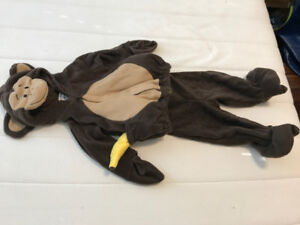 Toddler 6-12 mos Monkey Halloween Costume