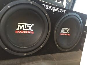 """2 12"""" subs boxed and ported"""