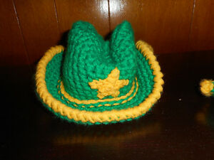 FS:  Handmade Cowboy Hat and Boots for Baby Gatineau Ottawa / Gatineau Area image 2