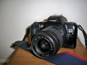 Canon EOS Rebel Xs*film SLR camera with lens 52mm EF 35-80mm