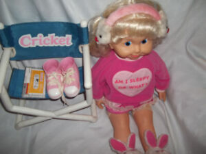 Cricket Doll And All The Accessories