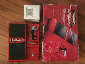 DigiTech Whammy IV 4 harmony pitch shifter guitare