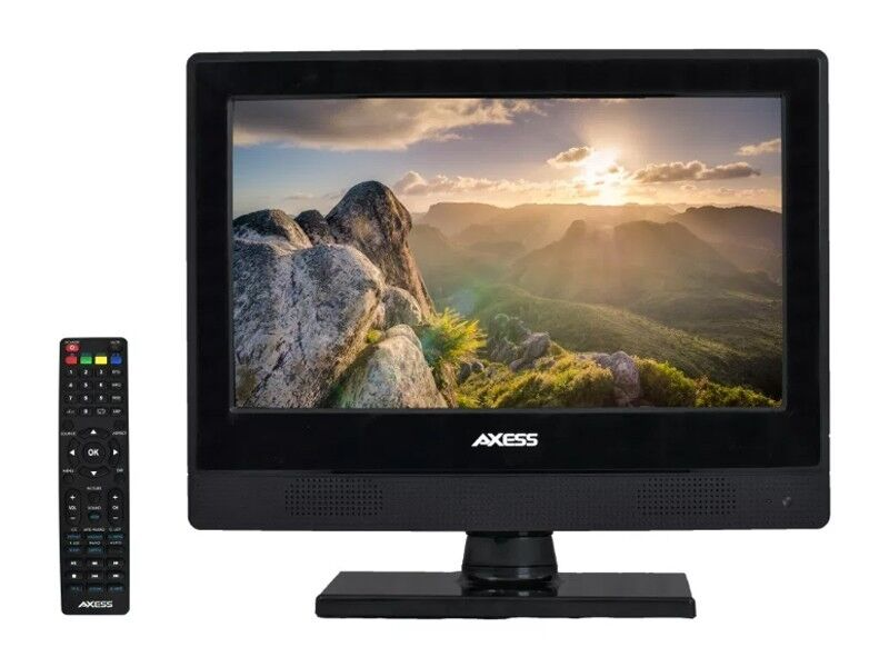 "Axess TV1705-13 13.3"" LED HDTV +AC/DC Compatible +USB/HDMI +"
