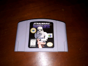 Jeux star wars shadows of the empire , Nintendo 64