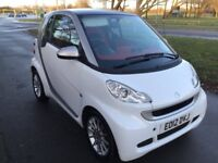 Smart ForTwo coupe passion 71bhp (white) 2012