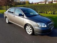 TOYOTA AVENSIS 1.8 VVT-i T3-S - AUTOMATIC - 5 DOOR - 2006 - GREY **LOW MILES**