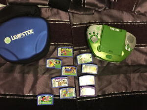 Leapster system and assorted games