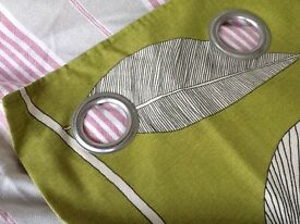 Lined Next eyelet curtains