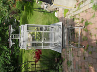 Large Metal Bird Cage for Parrots, etc.