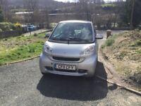 2011 SMART FORTWO Pulse MHD, Auto, Petrol 999cc, Silver £3,750.00
