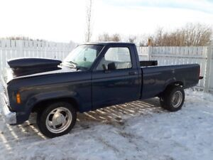 1989 ford ranger with 302 5speed manual this is a fast toy