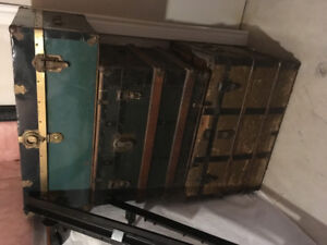 Antique Trunks (Steamer Trunks)