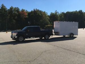 """2017 Enclosed Trailer 6 x 12 with 12"""" extra height -  Never used"""