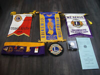 Lions club collectibles
