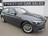 2013 BMW 1 Series 2.0 116d SE Sports Hatch (s/s) 5dr Diesel grey Automatic
