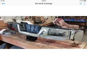 Dodge chrome rear bumper