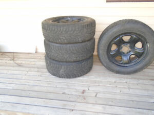 TIRES and WINTER  RIMS