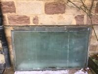 Double glazed toughened glass sheets