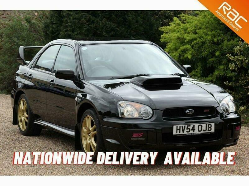 2004 Subaru Impreza WRX STi Type-UK 2.0 Saloon Petrol Manual